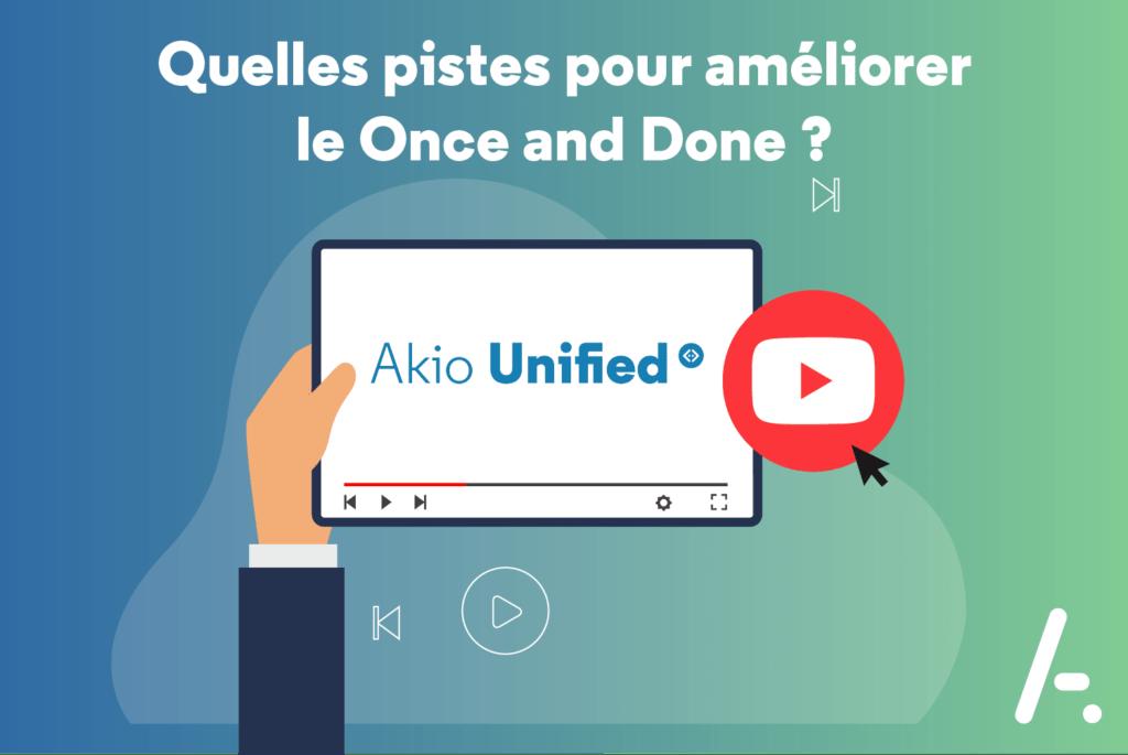 Read more about the article [Interview] Quelles pistes pour améliorer le Once and Done ?
