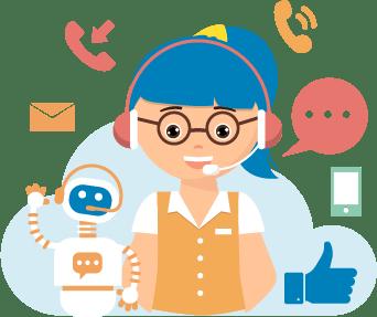 logiciel relation client omnicanal