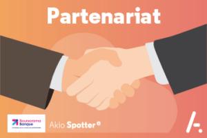 Akio Spotter annonce son partenariat avec Boursorama