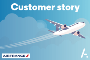 Read more about the article Helping Air France with its digital reputation