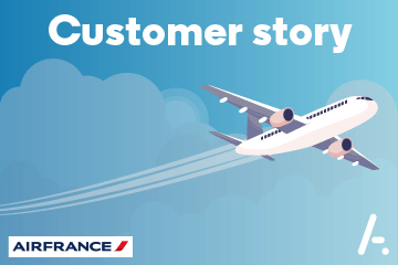 Helping Air France with its digital reputation
