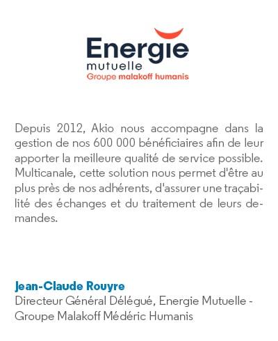 Verbatim Energie mutuelle