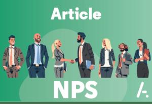 Le NPS de la Recommandation : 8/10, et des commentaires !