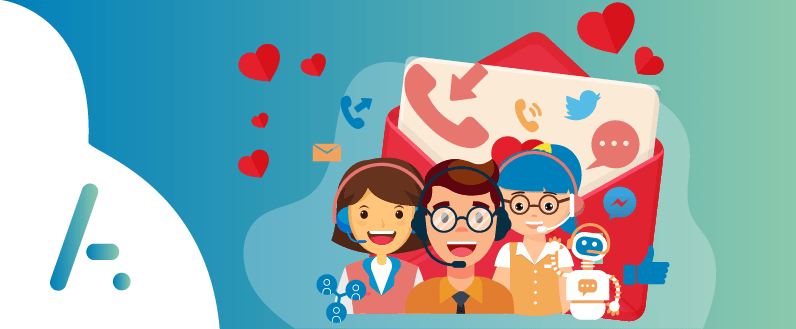 Contact Centre | A Valentine's story of Unified Voice and Digital Channels
