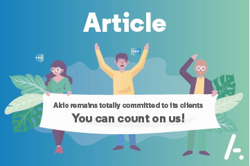 Akio remains present by your side: the message from Patrick Giudicelli, President of Akio