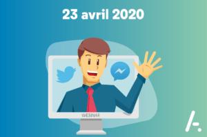 [Webinar] Facebook Messenger et Twitter, deux nouveaux super-pouvoirs pour vos conseillers clients