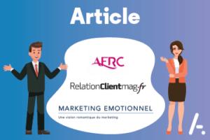 Read more about the article Ils en parlent – Annonce du partenariat Alcatel-Lucent Entreprise : Relation Client Mag  – AFRC – MarketingEmotionnel.com