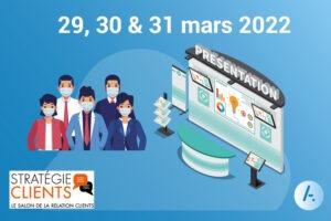 Read more about the article [Salon] Retrouvez AKIO au salon Stratégie Clients 2022