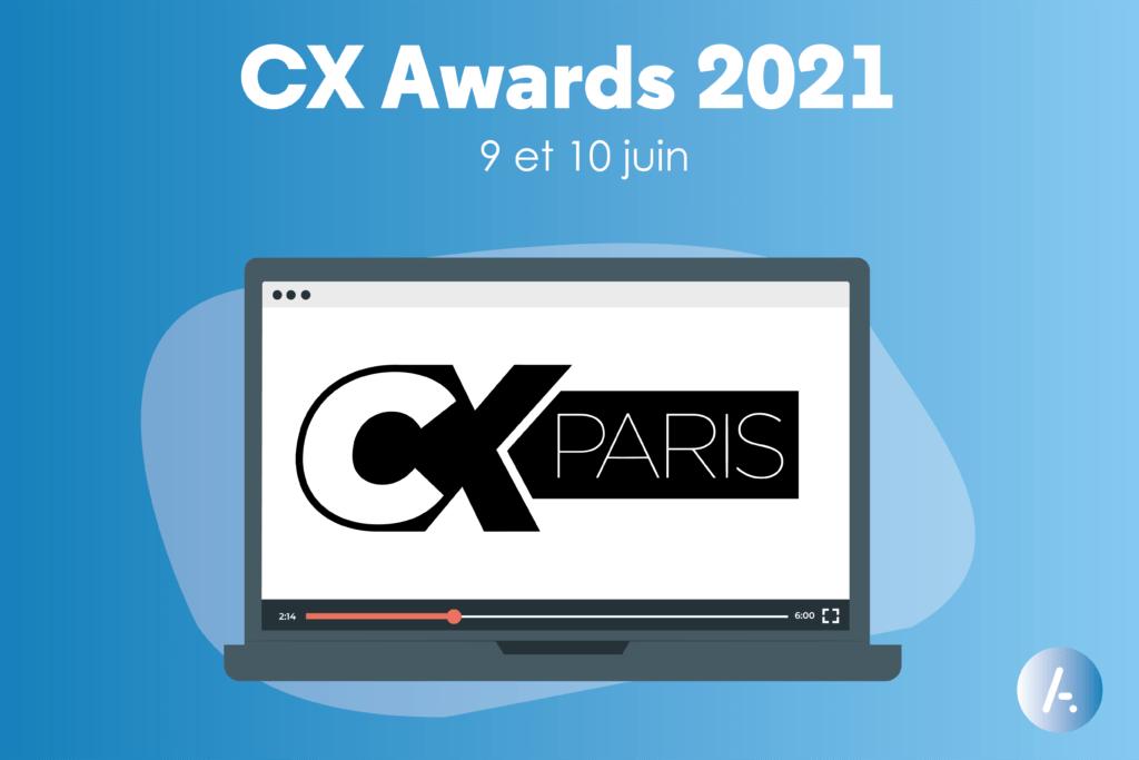 Read more about the article [Evènement] CX Awards 2021, par Relation Client Magazine