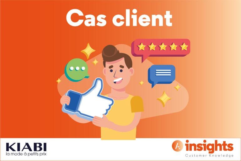 Read more about the article [Cas Client] KIABI, le projet Voix du Client (qui va vous inspirer)